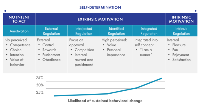 Motivation and Sustained Behavioral Change